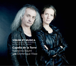 VINUM ET MUSICA DOMINIQUE VISEE CAPELLA DE LA TORRE, CD