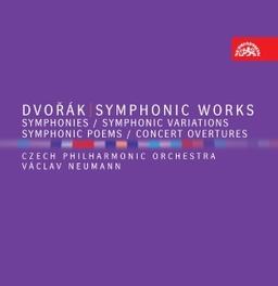 SYMPHONIC WORKS CZECH P.O./VACLAV NEUMANN A. DVORAK, CD