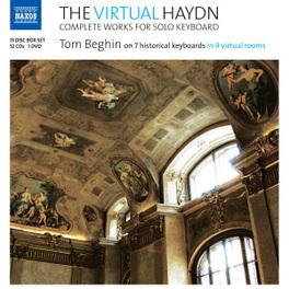 VIRTUAL HAYDN -CD+DVD- TOM BEGHIN J. HAYDN, CD
