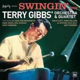 SWINGIN' WITH TERRY GIBBS GIBBS, TERRY ORCHESTRA &, CD