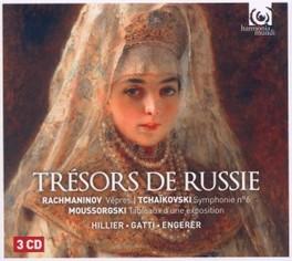TRESORS DE RUSSIE RACHMANINOV/TCHAIKOVSKI/MOUSSORGSKI V/A, CD