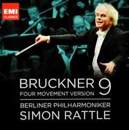 SYMPHONY NO.9 BERLINER PHILHARMONIKER/SIMON RATTLE A. BRUCKNER, CD