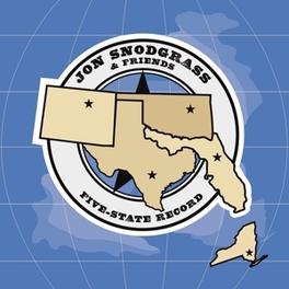 FIVE STATE RECORD FT. STEPHEN EGERTON OF ALL/DESCENDENTS FAME JON SNODGRASS, Vinyl LP