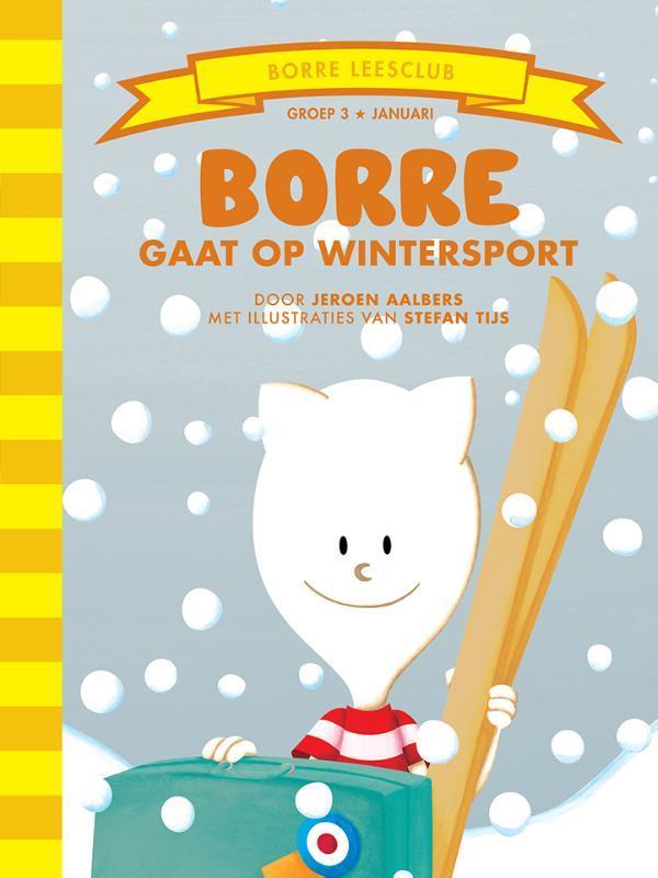 Borre gaat op wintersport