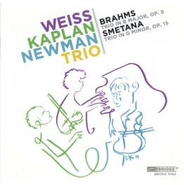 TRIO IN B MAJOR WEST KAPLAN NEWMAN TRIO BRAHMS/SMETANA, CD