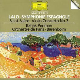 SYMPHONY ESPAGNOL/VIOLINC -PERLMAN/BARENBOIM Audio CD, LALO/SAINT SAENS, CD