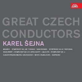 SYMPHONIES CZECH PHILHARMONIC ORCHESTRA OZART/BEETHOVEN/SCHUBERT/, CD