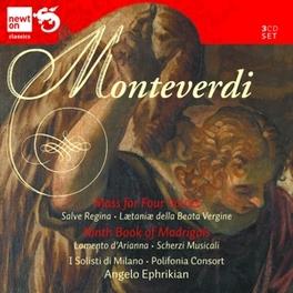CHORAK WORKS/MADRIGALS & I SOLISTI DI MILANO/POLIFONIA CONSORT ANGELO C. MONTEVERDI, CD