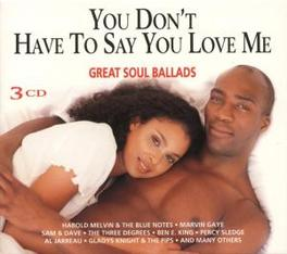 YOU DON'T HAVE TO SAY.. Audio CD, V/A, CD
