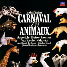 LE CARNAVAL DES ANIMAUX ARGERICH, M/FREIRE, N Audio CD, SAINT-SAENS, C., CD
