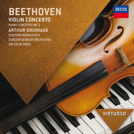 VIOLIN CONCERTO/PIANO CON BBC S.O./COLIN DAVIS L. VAN BEETHOVEN, CD