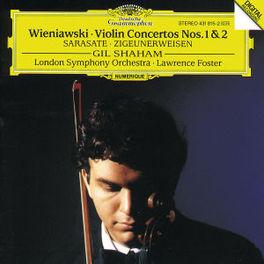 VIOLIN CONCERTOS NO.1/NO2 LSO/LAWRENCE FOSTER/SHAHAM Audio CD, HENRYK WIENIAWSKI, CD