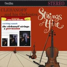 STRINGS AFIRE &.. .. EXCITING SOUNDS HERMAN CLEBANOFF, CD