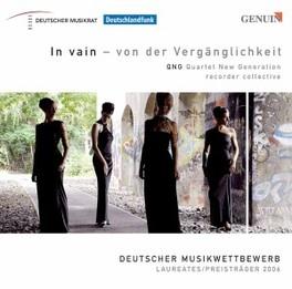 IN VAIN-VON DER.. QUARTET NEW GENERATION Audio CD, QUARTET NEW GENERATION, CD