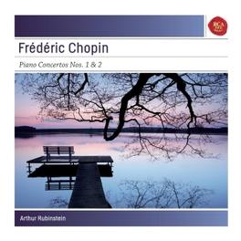 PIANO CONCERTOS 1 & 2 ARTHUR RUBINSTEIN CHOPIN, F., CD