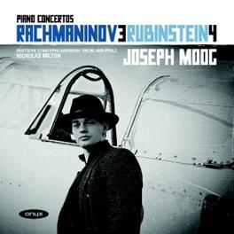 PIANO CONCERTO NO.4 DEUTSCHE STAATSPHILHARMONIE/N.MILTON/JOSEPH MOOG RUBINSTEIN/RACHMANINOV, CD