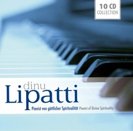 PIANIST OF DIVINE.. .. SPIRITUALITY DINU LIPATTI, CD