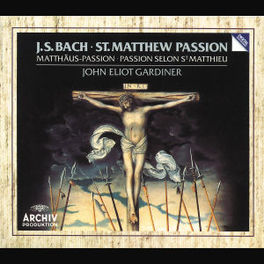 MATTHAUS PASSION W/ENGLISH BAROQUE SOLOISTS, GARDINER Audio CD, J.S. BACH, CD