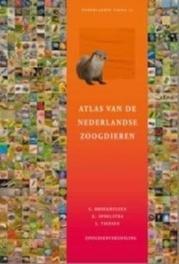 Atlas van de Nederlandse zoogdieren Broekhuizen, Sim, Hardcover