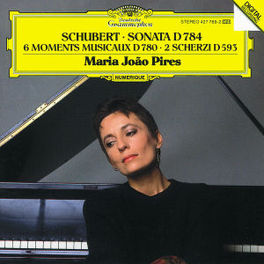 PIANO SONATA D 784 MARIA JOAO PIRES Audio CD, F. SCHUBERT, CD