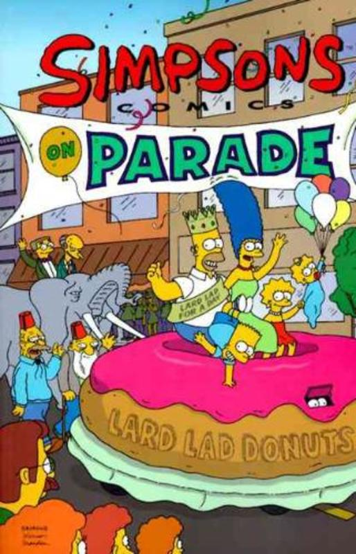 Simpsons, Comics on Parade Matt Groening, Paperback