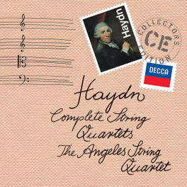 COMPLETE STRING QUARTETS THE ANGELES STRING QUARTET J. HAYDN, CD