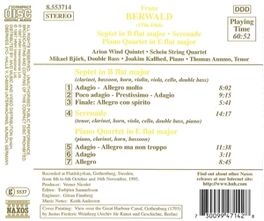 SEPTET & PIANO QUARTET F. BERWALD, CD