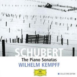 PIANO SONATAS KEMPFF Audio CD, F. SCHUBERT, CD