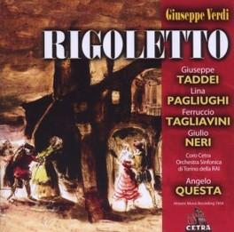 RIGOLETTO ANGELO QUESTA G. VERDI, CD