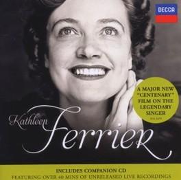 KATHLEEN FERRIER -CD+DVD- KATHLEEN FERRIER, CD