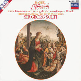 MESSIAH W/CHICAGO SYM.ORCHESTRA, SOLTI Audio CD, G.F. HANDEL, CD