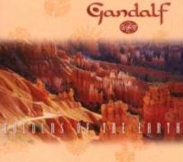 COLOURS OF THE EARTH Audio CD, GANDALF, CD