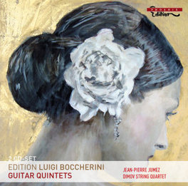 GUITAR QUINTETS DIMOV STRING QUARTET L. BOCCHERINI, CD