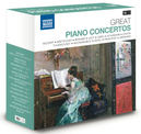 GREAT PIANO CONCERTOS MOZART/BEETHOVEN/BRAHMS/LISZT/GRIEG/SCHUMANN/RAVEL..