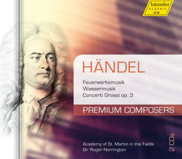 MUSIC FOR THE ROYAL FIREW ACADEMY OF ST.MARTIN-IN-THE-FIELDS G.F. HANDEL, CD