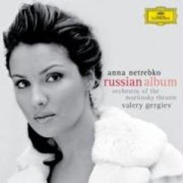 RUSSIAN ALBUM ORCHESTRA OF THE MARIINSKY THEATRE/VALERY GERGIEV Audio CD, ANNA NETREBKO, CD