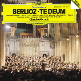 TE DEUM OP.22 EUROPEAN COMM.YOUTH ORCH./ABBADO Audio CD, H. BERLIOZ, CD