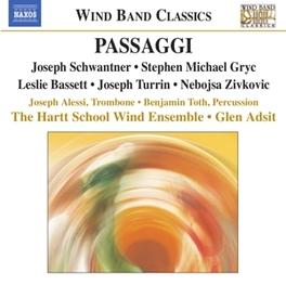 MUSIC FOR WIND BAND HARTT SCHOOL WIND ENSEMBLE/ADSIT Audio CD, SCHWANTNER/GRYC, CD