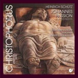ST.JOHN PASSION/CANTIONES COLLEGIUM MUSICUM PLAGENSE/FREIBERGER Audio CD, H. SCHUTZ, CD