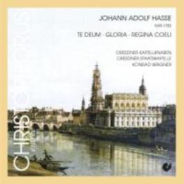 GLORIA/TE DEUM LAUDAMUS WAGNER Audio CD, J.A. HASSE, CD