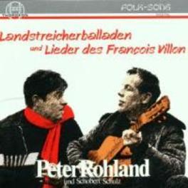 LANDSTREICHBALLADENLIEDE Audio CD, ROHLAND & SCHULZ, CD