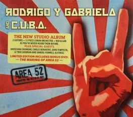 AREA 52 -CD+DVD- RODRIGO Y GABRIELA, CD