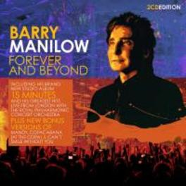 FOREVER AND BEYOND BARRY MANILOW, CD