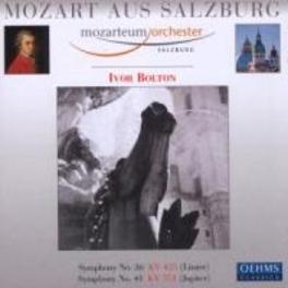 SYMPHONIES NO.36 & 41 MOZARTEUM ORCHESTRA SALZBURG Audio CD, W.A. MOZART, CD