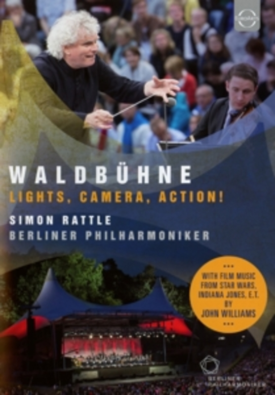 WALDBUHNE:LIGHTS, CAMERA, BERLINER PHILHARMONIKER/SIMON RATTLE. RATTLE, SIMON, DVD