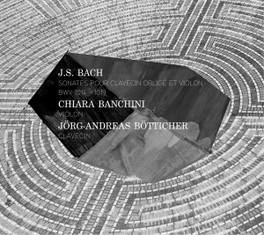 SONATES POUR CLAVECIN.. CHIARA BANCHINI/J-A BOTTICHER J.S. BACH, CD