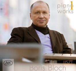 PIANO WORKS VOL.1 & 2 BORIS BLOCH F. LISZT, CD