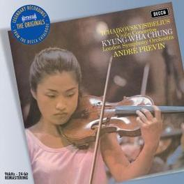 VIOLIN CONCERTO LONDON SYMPHONY ORCHESTRA/ANDRE PREVIN Audio CD, TCHAIKOVSKY/SIBELIUS, CD