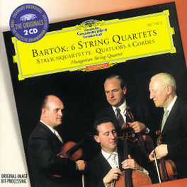 STRING QUARTETS 1-6 HUNGARIAN STRING QUARTET Audio CD, B. BARTOK, CD