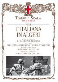 ITALIANA IN ALGERI GIULINI/SIMIONATO/PETRI//*2CD + BOOK* G. ROSSINI, CD